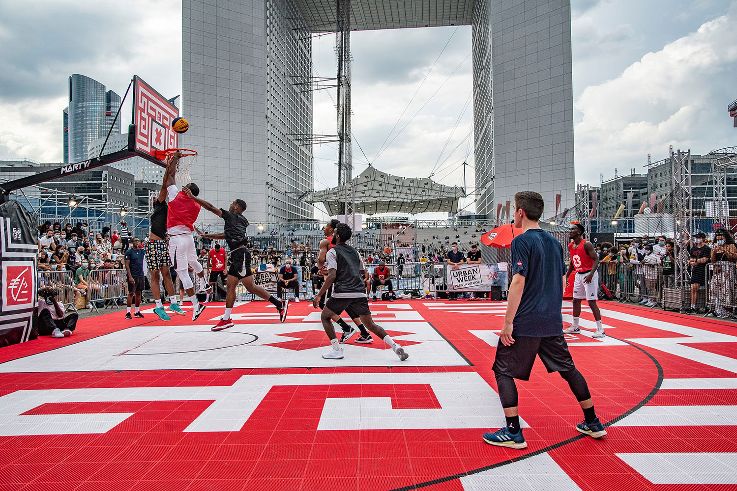 Urban Week Festival Paris La Defense, basketball, September 18, 2020, France, (Nos Dren).