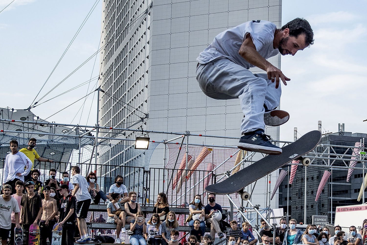 Urban Week Festival Paris La Defense, basketball, September 19, 2020, France, (Nos Dren).